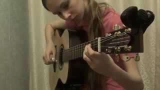 Christmas Carol Medley - Nataliia Senina, Fingerstyle guitar cover