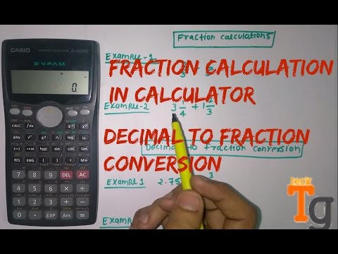 How To Calculate Fraction In scientific Calculator   Any ...