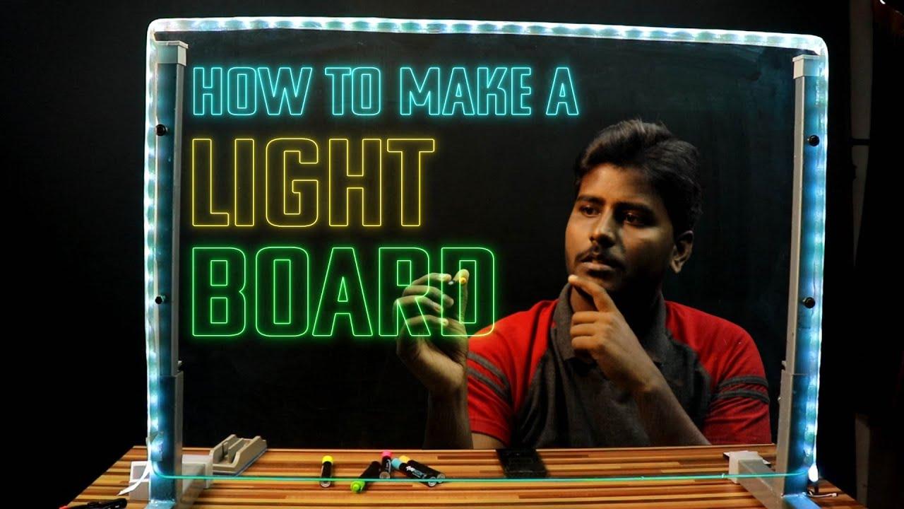 DIY Lightboard or Glassboard - Hackster io