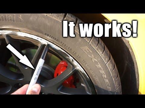 Fixing my curbed Wheel! (Demon Replica Wheels?)