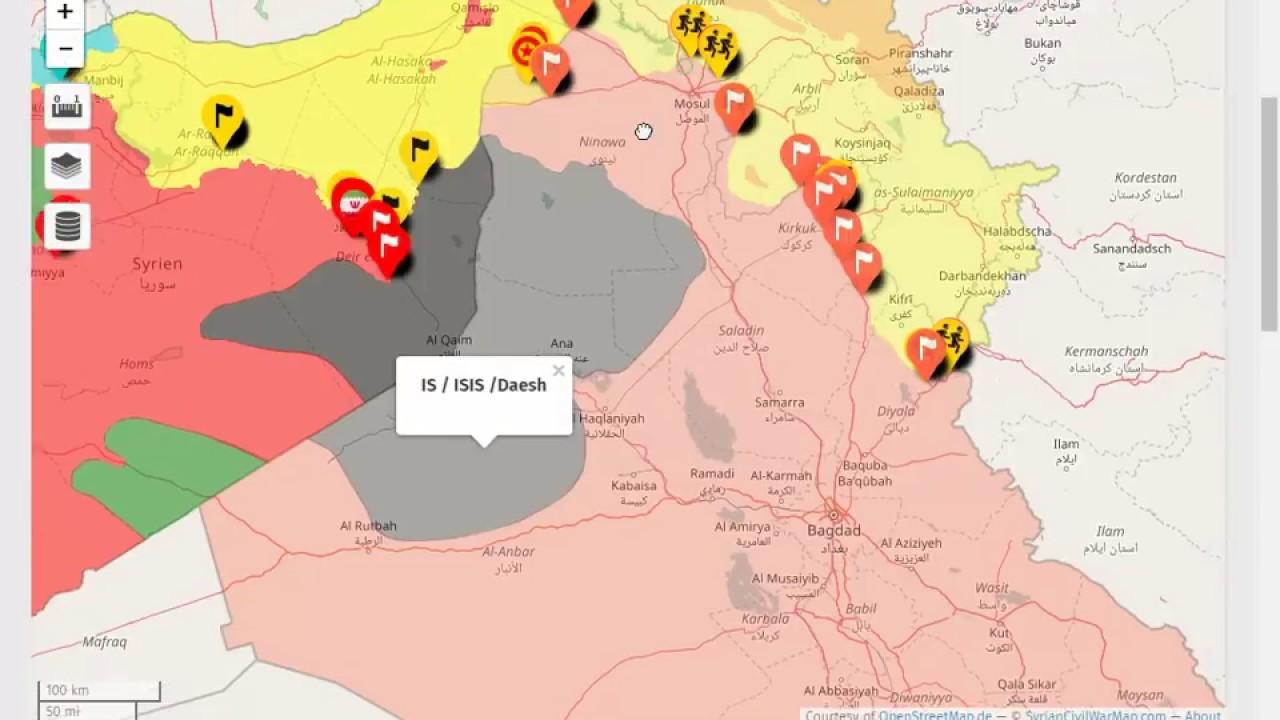 Iraq war map 2017 today iraqi civil war on iraq map youtube iraq war map 2017 today iraqi civil war on iraq map gumiabroncs Gallery