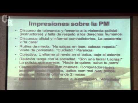 Discursos y experiencias al interior de la PM