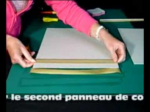 kit faire classeur scrapbooking 30x30 youtube. Black Bedroom Furniture Sets. Home Design Ideas