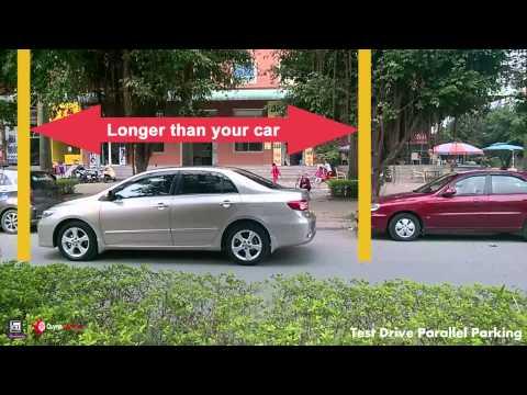 Car 29 - Test Drive Parallel Parking - Đỗ xe song song - Quỳnh Valentine