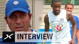 Antonio Conte verspricht Antonio Rüdigers Chelsea-Debüt   FC Chelsea - Inter Mailand