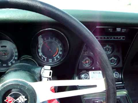 1969 Corvette 427/390hp test drive