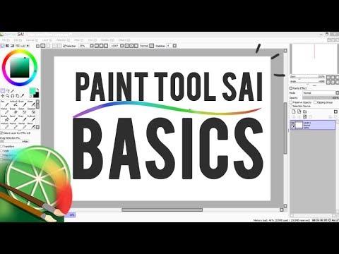 Tutorial - Beginners Guide To - Easy Paint Tool SAI!
