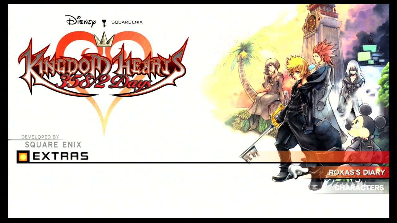 Kingdom Hearts 358 2 Days Extra Secrets Reports And Journal