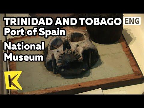 【K】Trinidad&Tobago Travel-Port of Spain[트리니다드 토바고 여행-포트오브스페인]국립박물관/National Museum/Slavery/Colony