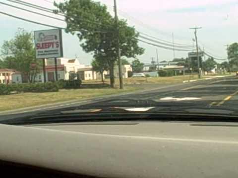 Driving thru Wall, NJ & Belmar, NJ 6/24/10