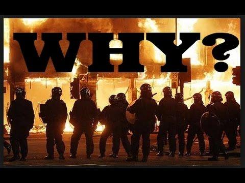 Liverpool Riots 2011 - Behind Police Lines - Princes Road L8