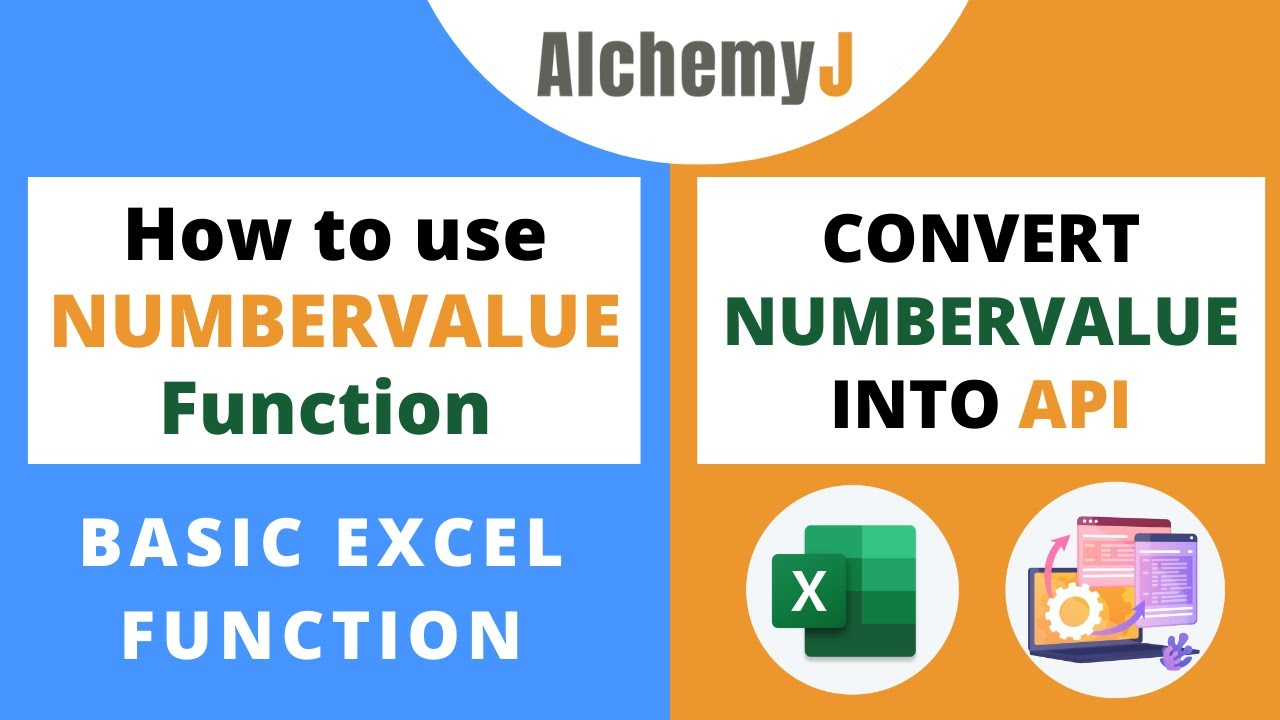 Basic Excel Function - How to use NUMBERVALUE Function