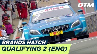 DTM Brands Hatch 2018 - Qualifying Race 2 - RE-LIVE (English)