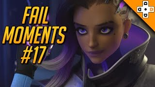 Overwatch Fail Moments #17 - Highlights Montage