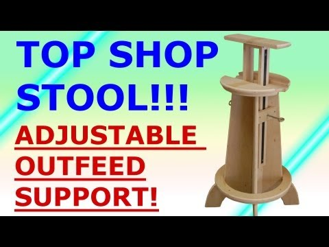 Building a Double Duty Shop Stool