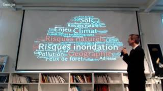 Greentech Verte  Data Session Risques Naturels #2 - Prévention/prévision Des Risques En Temps Réel