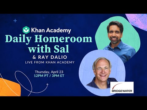 Daily Homeroom Live with Sal: Thursday, April 23
