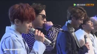 150424 Beast On Rainy Days Tencent Kpop Live