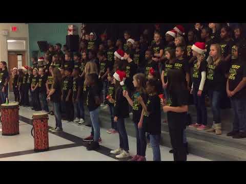 Widewater Elementary School Chorus 2017 - Season of bells
