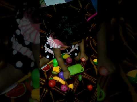 Mainan anak,potong buah (Cutting Fruits Toys)