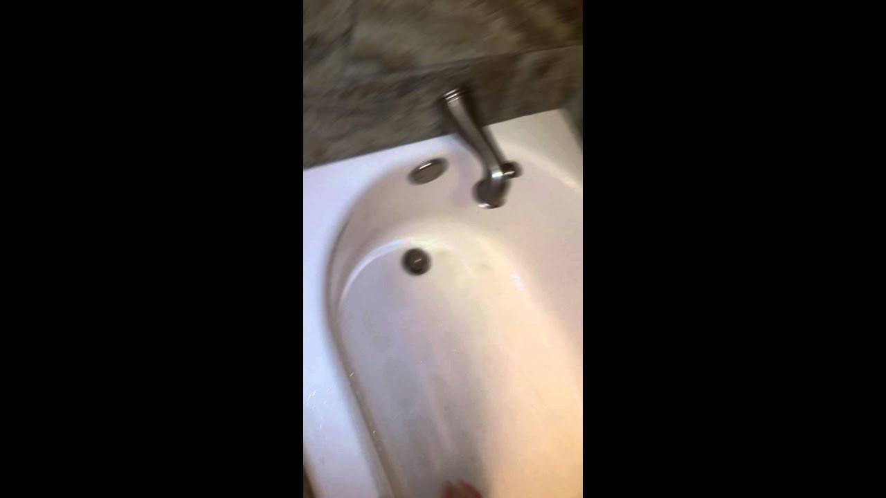 Creaking American Standard Americast tub install - YouTube