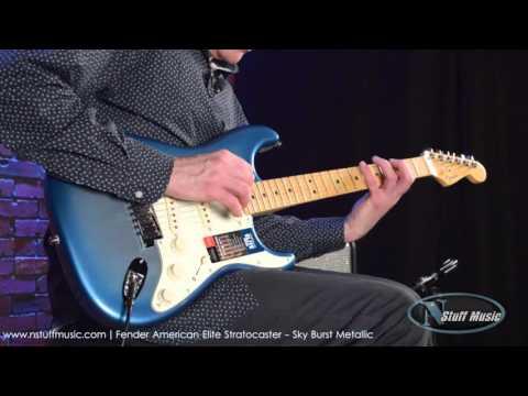 Fender American Elite Stratocaster   N Stuff Music