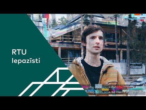 RTU absolvents Rūdis Rubenis