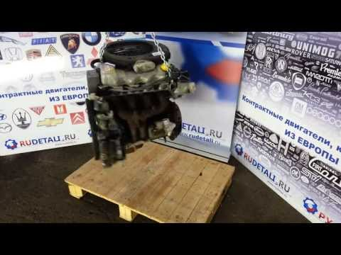Контрактный б у двигатель Форд Ескорт Ford Escort. Объем 1,6 8V. HD Видеообзор.