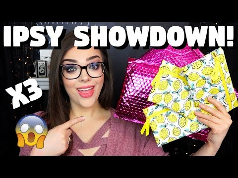 Are These Bags ANY GOOD?! Ipsy x3 Showdown! April 2019 Ipsy Unboxing