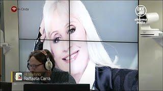 Raffaella Carra intervista telefonica a Deejay Chiama Italia 16-01-2015