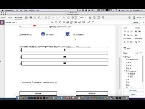 Adobe Acrobat DC | Скринкаст