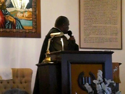 Bishop James Alston Preaching The Issue Is