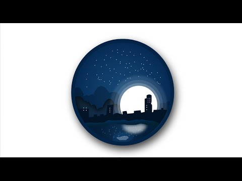 Illustrator Tutorial Logo Design Midnight City
