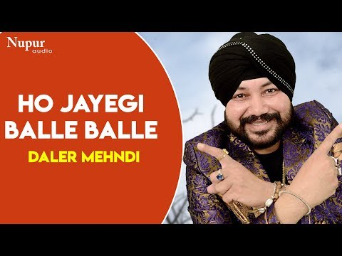Daler Mehndi Ho Jayegi Balle Balle  Daler Mehndi Live In Nakodar Mela 2019