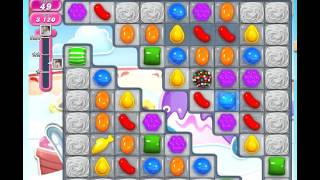 Candy Crush Saga Level 617 with booster