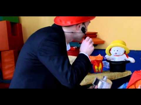 Spettacolo di magia comica per bambini
