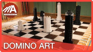 Chess in 40,000 DOMINOES!