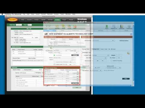 FileMaker Shipping Software for UPS, FedEx, USPS and LTL