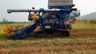 ประเดิม จ้าวแรก เกษตรพัฒนา - จ้าวช้างไวไฟ Aell New 2018 คลิปรถเกี่ย...