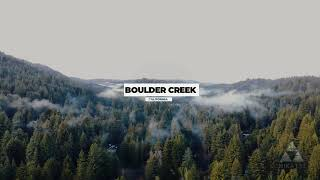 Misty Mountains | Boulder Creek, California - Aerial Views  [4K Video]
