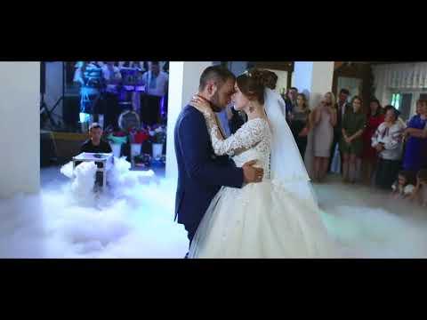 Перший весільний танець,святковий торт Романа та Діани 12.05.2018