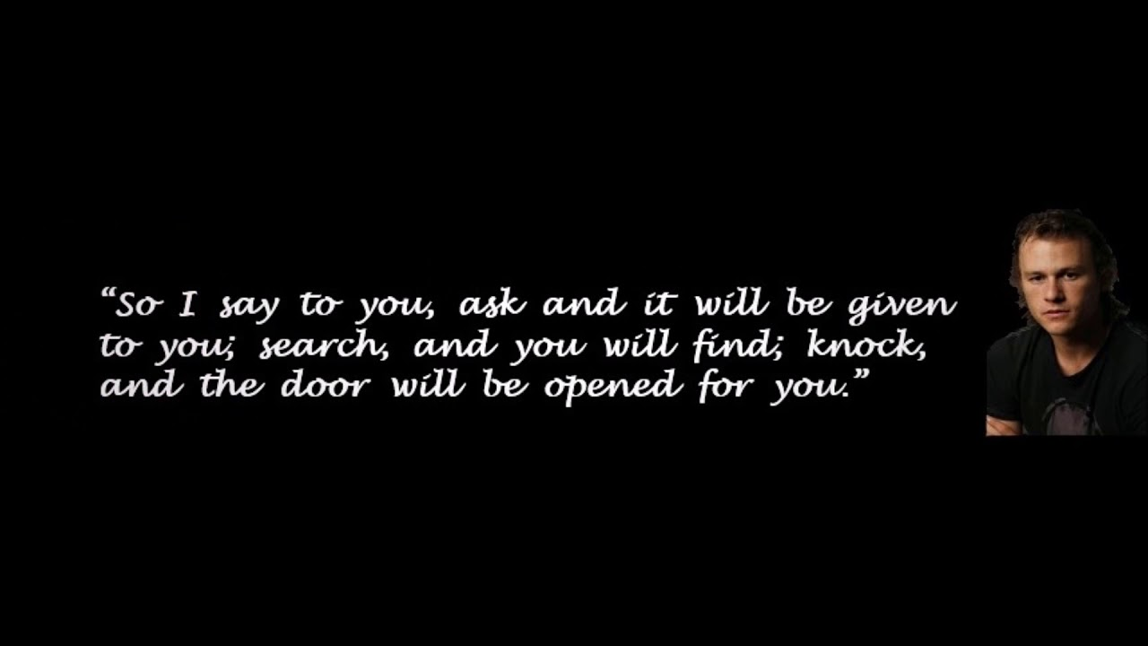Heath Ledger Quotes Quotes Words
