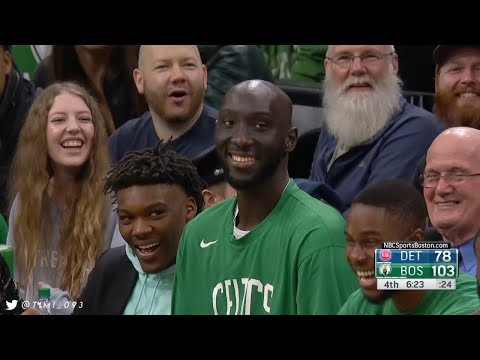 Tacko Fall FULL Coverage vs Detroit Pistons (12/20/2019)
