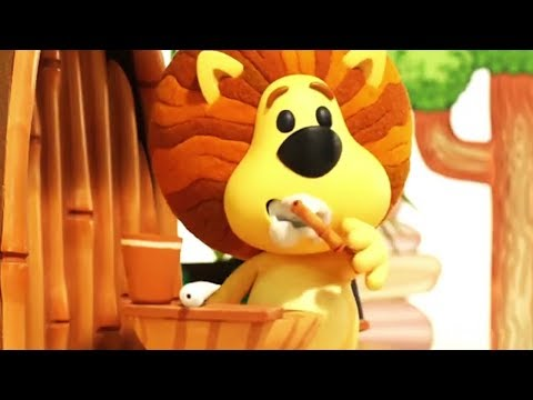 Raa Raa The Noisy Lion | Scritch Scratch | English Full Episodes | Cartoon For Kids🦁