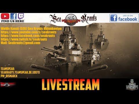 Wochend-Livestream+Z39 - #WorldofWarships #SeaKrauts