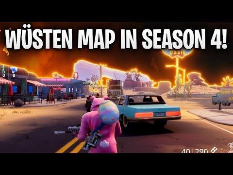 WÜSTEN MAP KOMMT MIT SEASON 4 🌵 | Fortnite: Battle Royale
