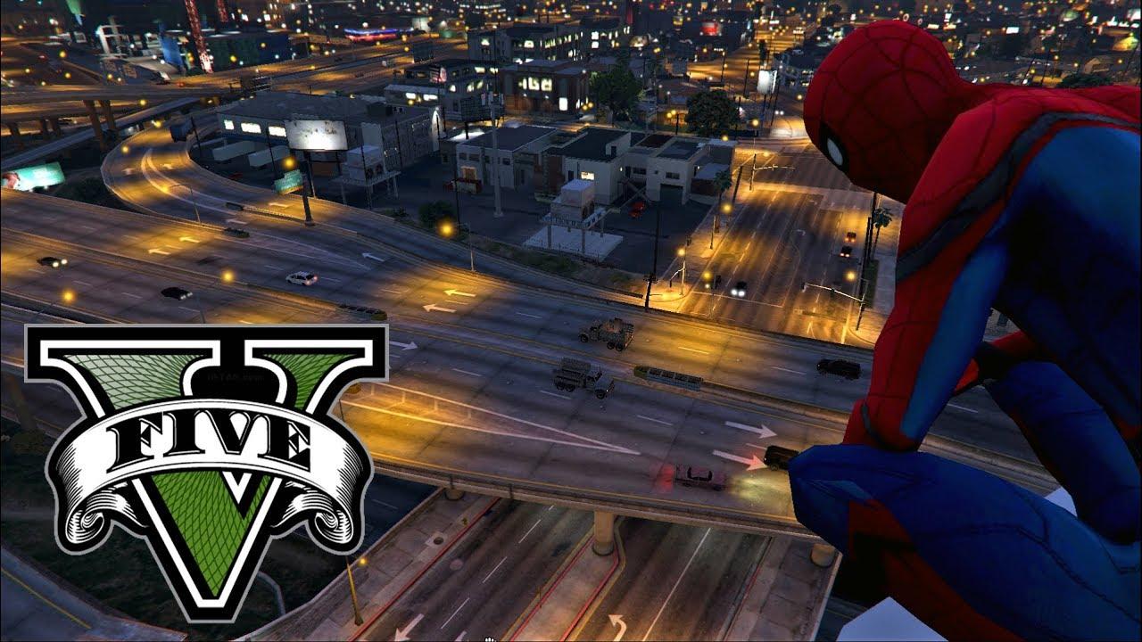 GTA 5 Meets Spider-Man Thanks To JulioNIB - GTA BOOM