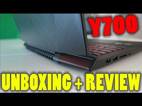 """Lenovo Y700 15.6"""" Gaming Laptop - Unboxing & First Impressions"""