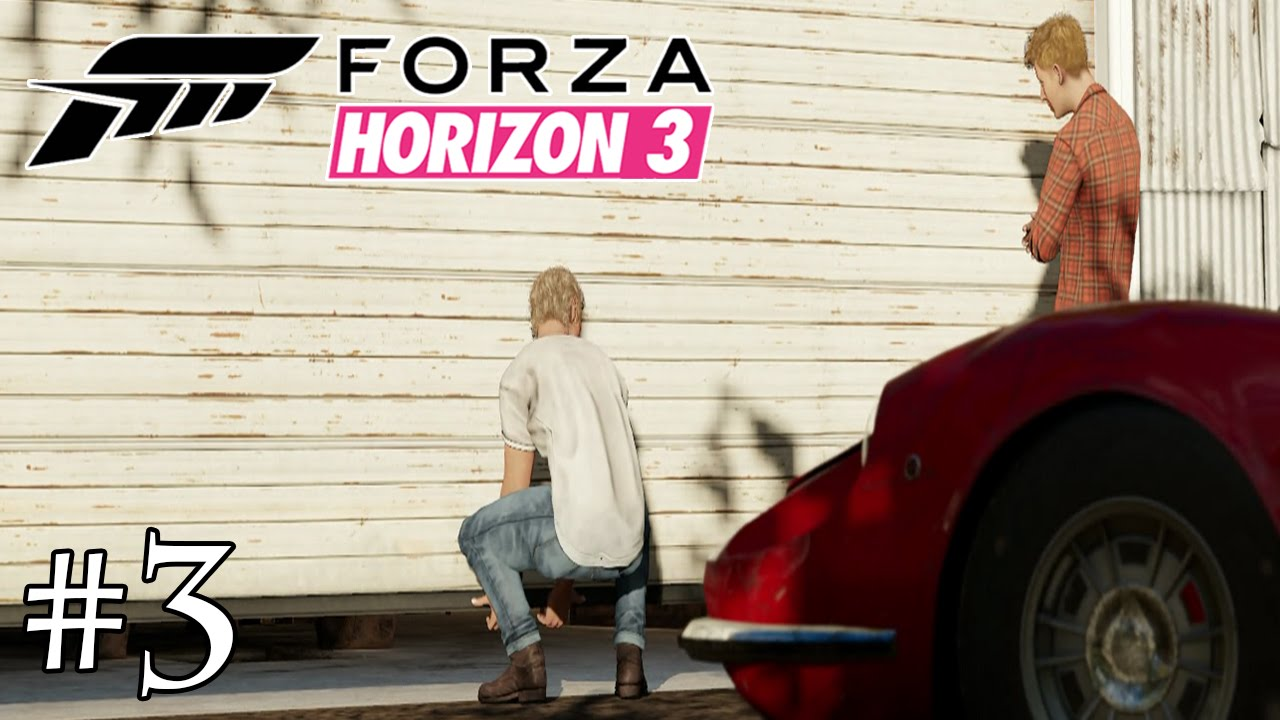 forza horizon 3 fr 3 tr sors de grange youtube. Black Bedroom Furniture Sets. Home Design Ideas