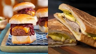 BEST SLIDERS AND SANDWICHES Recipes | Slider and Sandwiches Recipes at Home #1